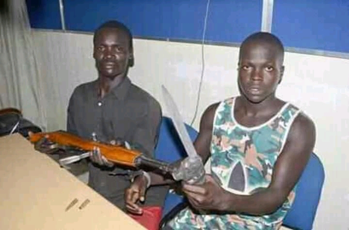 Photos: RRS arrests notorious 20 year-old armed robbery