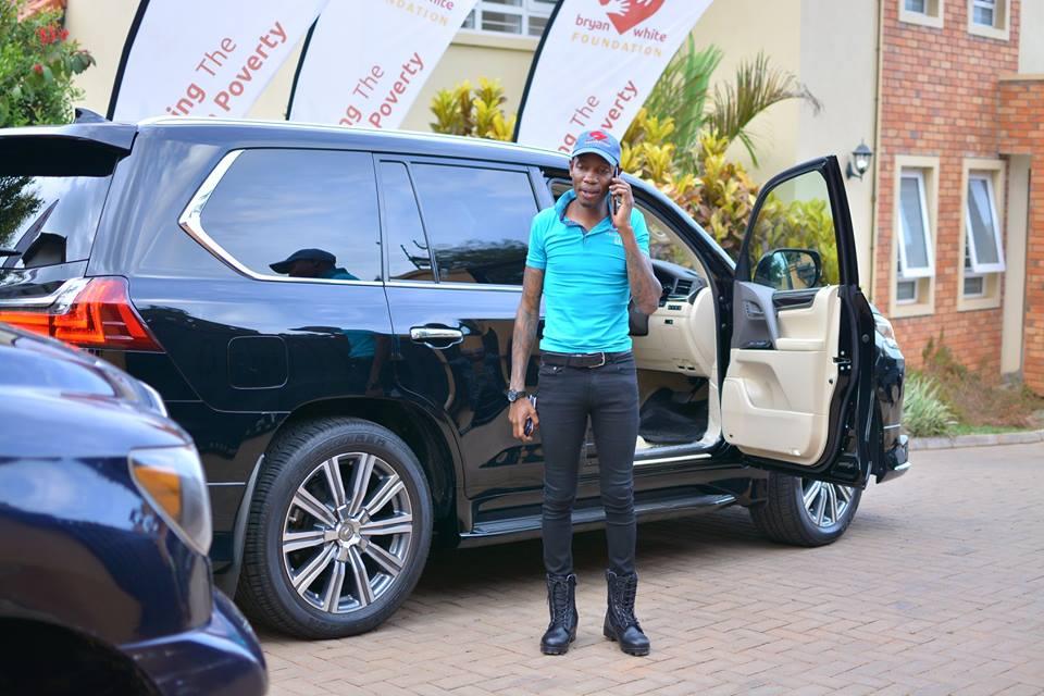 Bryan White Runs Broke, Selling Off His Cars - Uganda Mirror