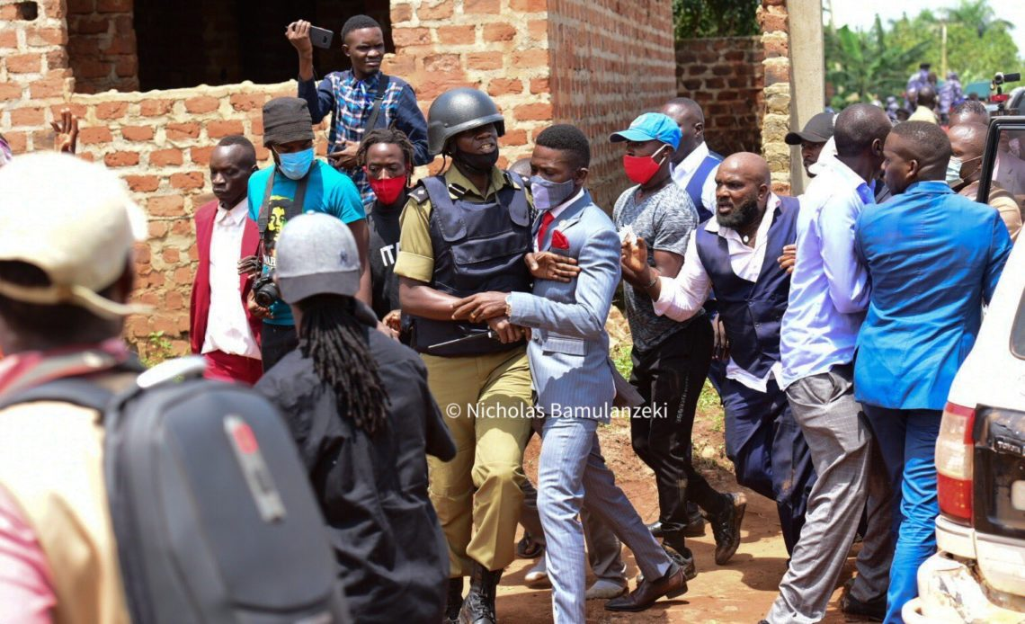 We had No Option But To Arrest Bobi Wine & Amuriat — Police - Uganda Mirror